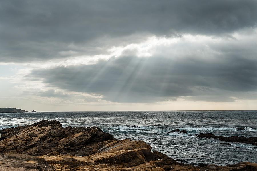 Big Sur Photograph - God Rays by George Buxbaum