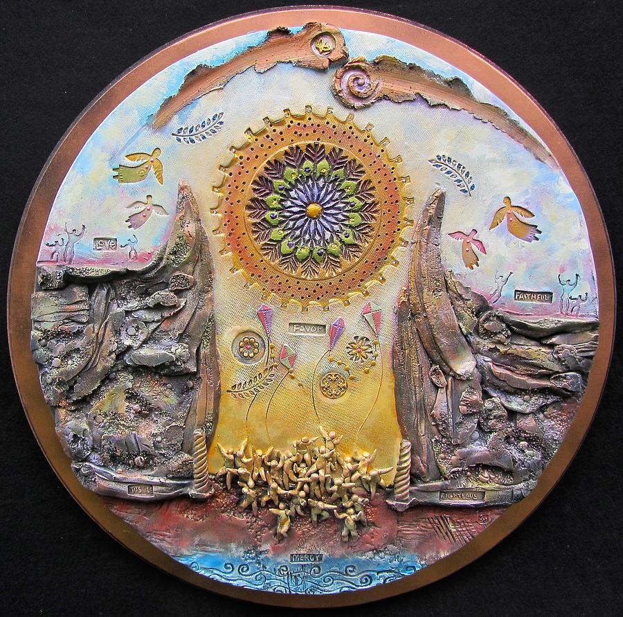God Will Make A Way Ceramic Art