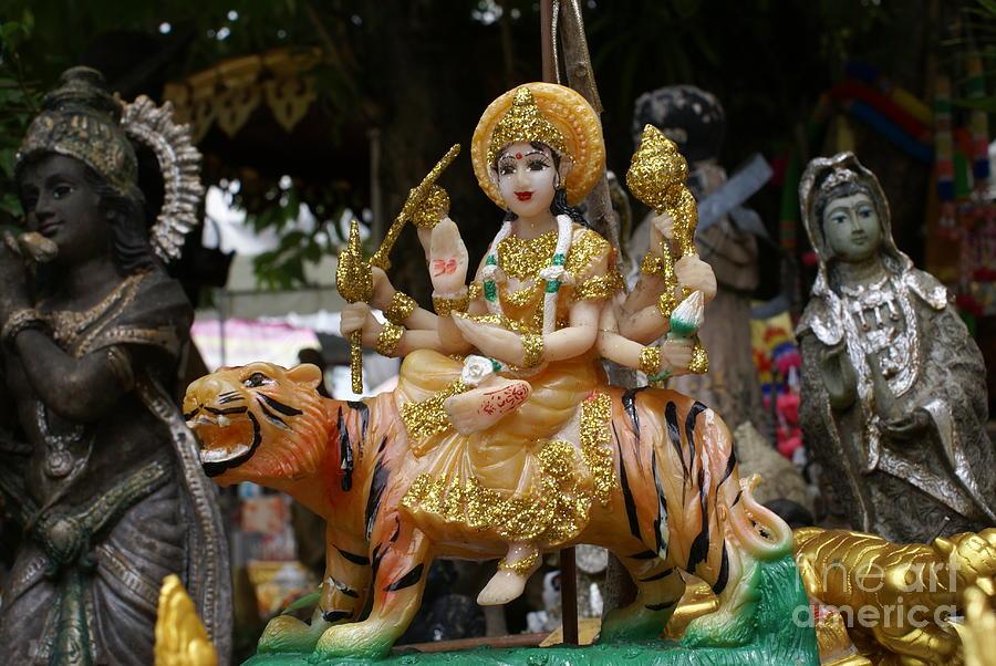 Goddess Durga Photograph - Goddess Durga by Gregory Smith
