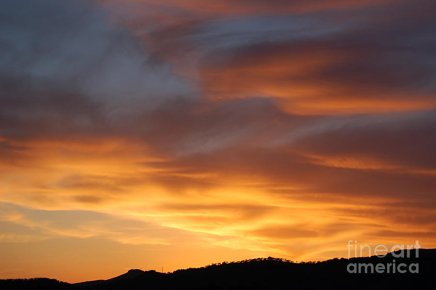 Gods Paintbrush Photograph  - Gods Paintbrush Fine Art Print