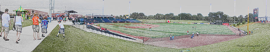 Sports Photograph - Going To The Baseball Game Digital Art by Thomas Woolworth