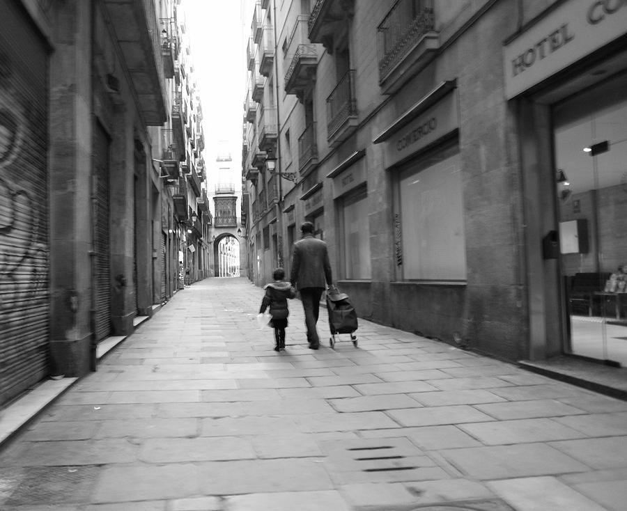 Street Photography Photograph - Going Where II by Art CineMedia