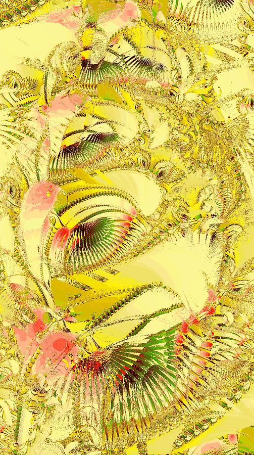 Golden Digital Art