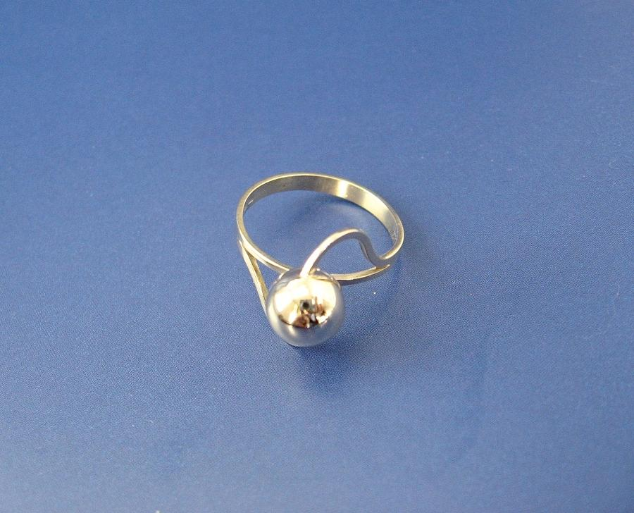 Golden Ball - Ring Jewelry