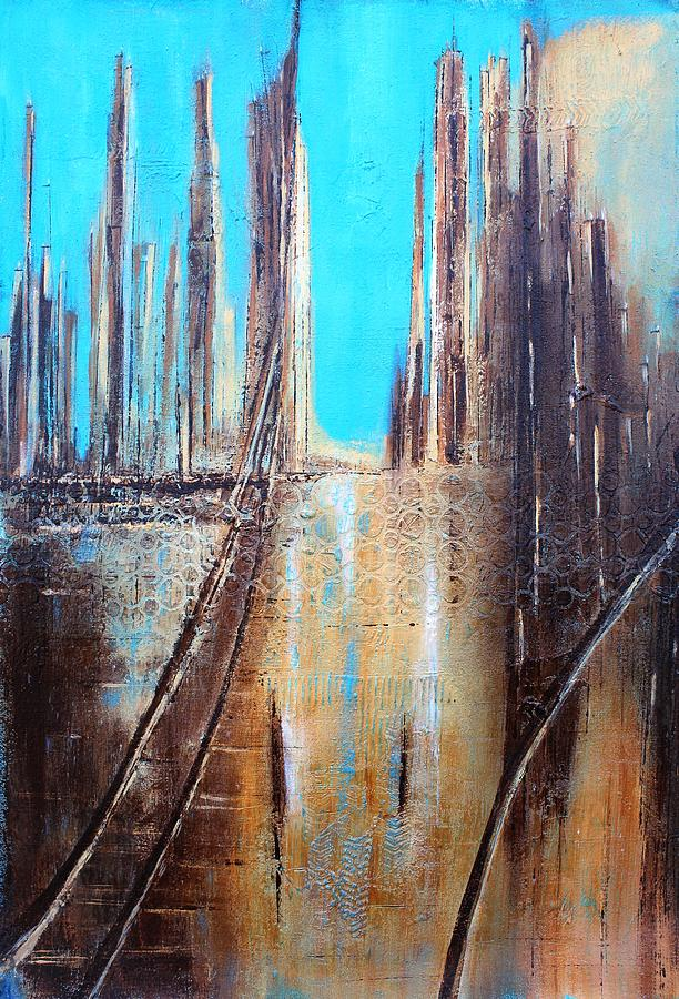 Golden City Painting