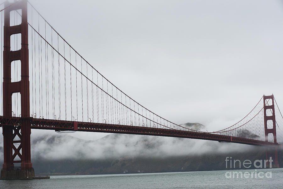 Golden Gate By The Bay Photograph  - Golden Gate By The Bay Fine Art Print