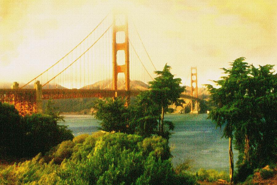 Golden Gate - San Francisco Oil Painting