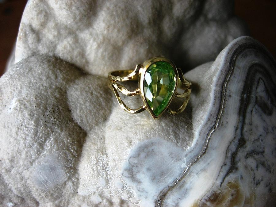 Golden Spring Touch - Ring Jewelry