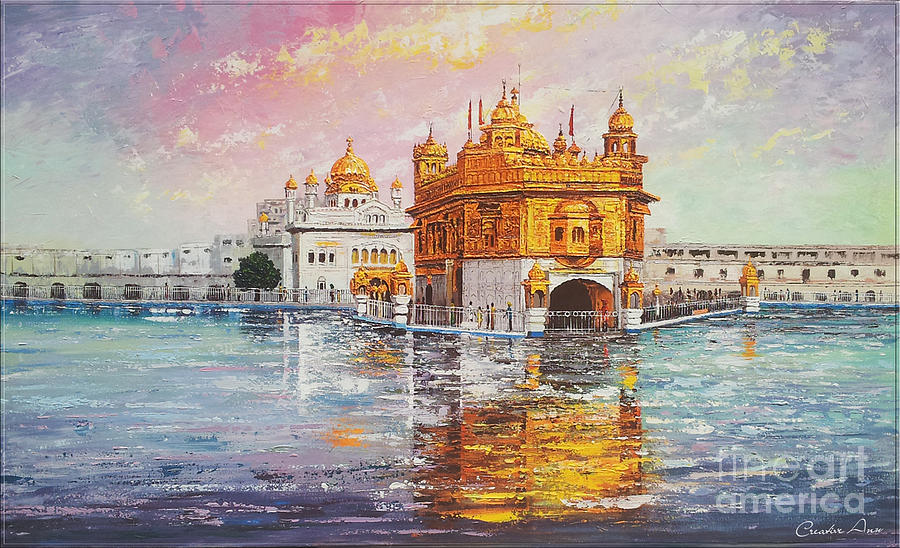 Golden Temple Paintings To Buy