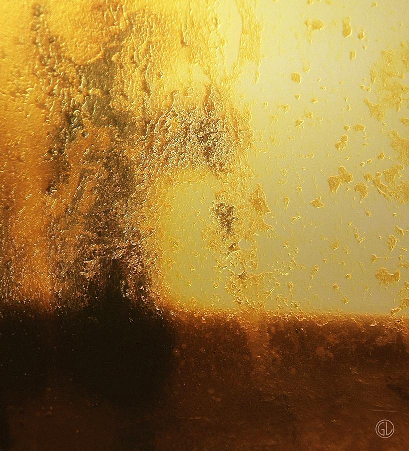 Abstract Digital Art - Golden Tree by Gun Legler
