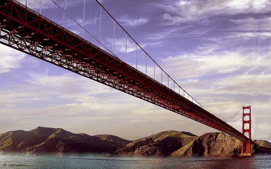 Goldengate Bridge San Francisco Photograph
