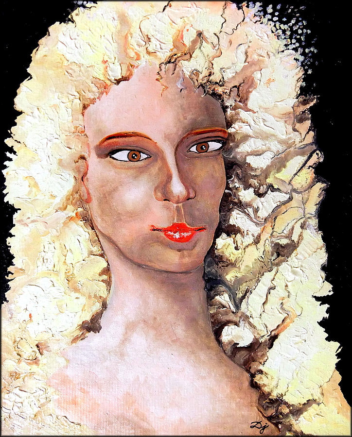 Goldilocks Painting  - Goldilocks Fine Art Print