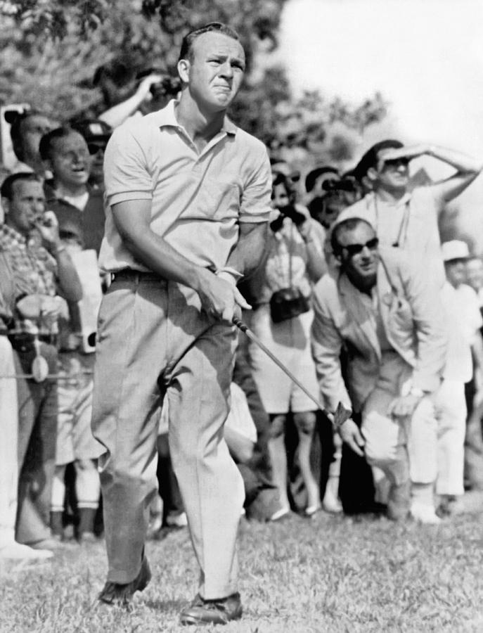 1960's Photograph - Golfer Arnold Palmer by Underwood Archives