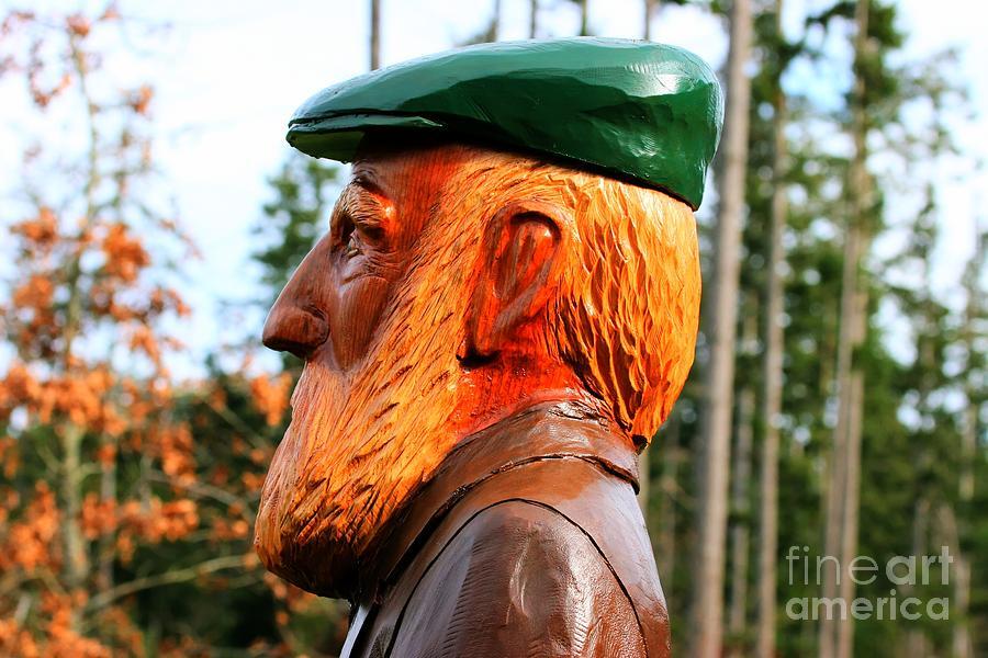 Golfer Profile Photograph