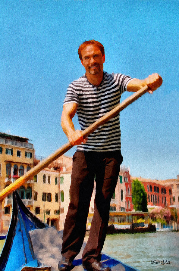 Gondolier Painting