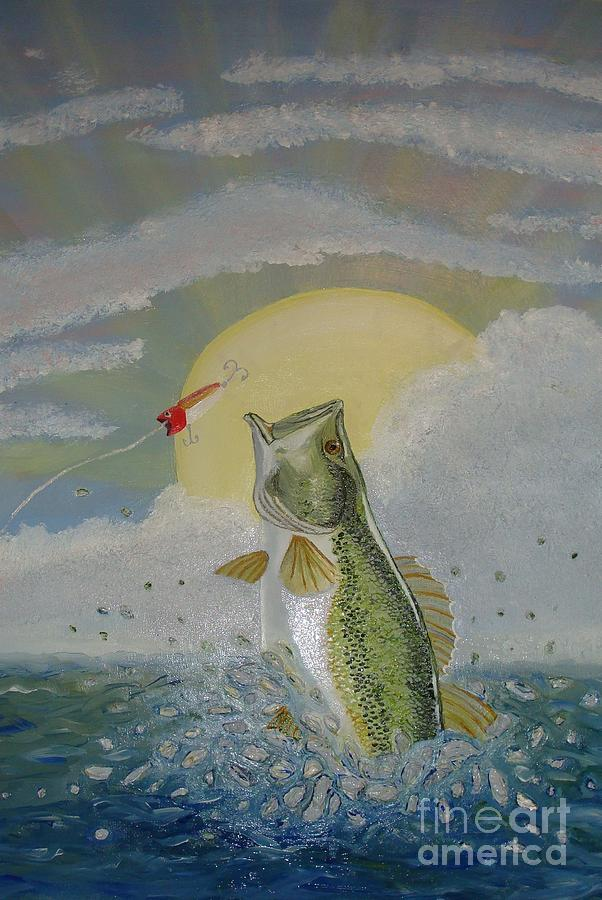 Gone Fishing Painting  - Gone Fishing Fine Art Print