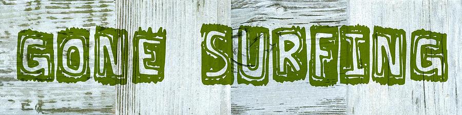 Gone Surfing Digital Art