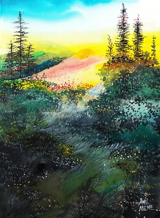 Good Morning 3 Painting