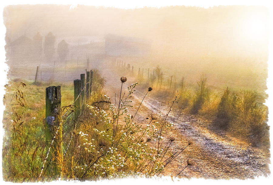 Appalachia Photograph - Good Morning Farm by Debra and Dave Vanderlaan