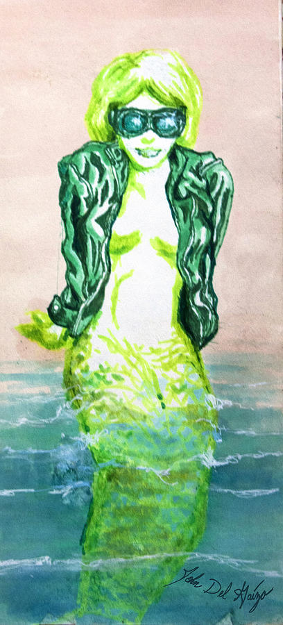 Good Morning Little Mermaid Drawing