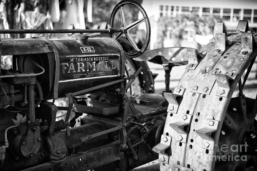 Good Old Tractor Photograph
