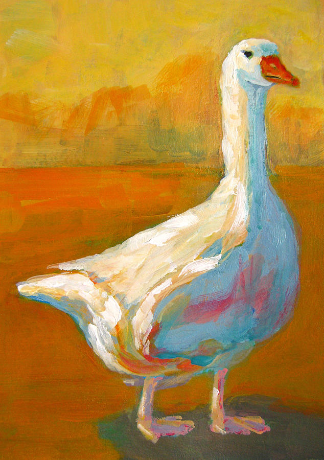Goose A Farm Animal Painting