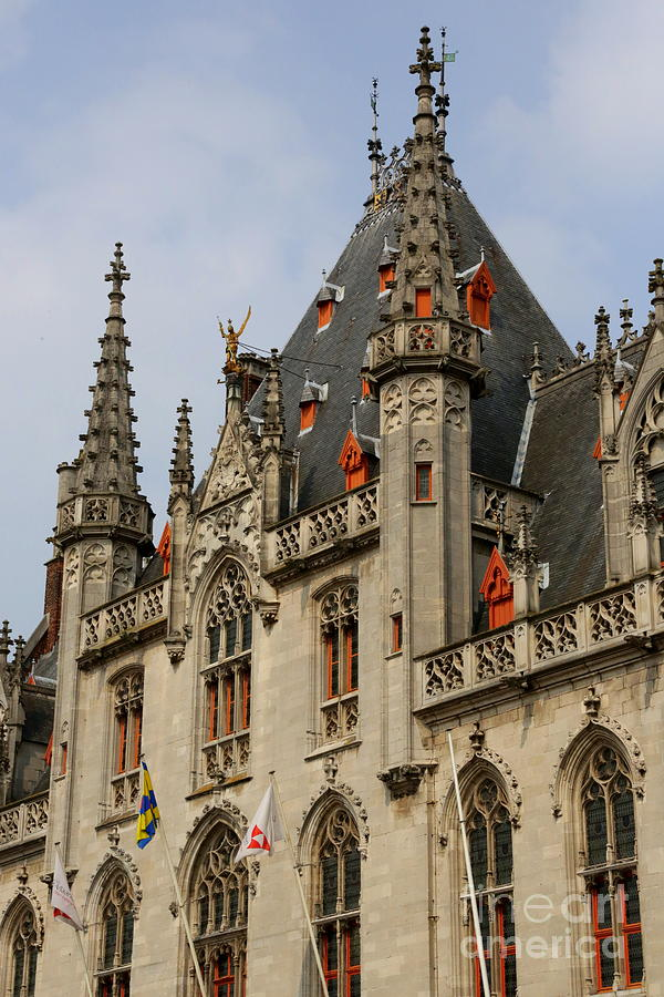 Gothic Bruges Photograph