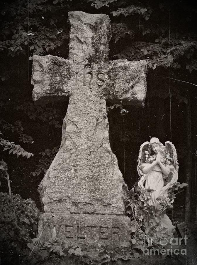 Gothic Cross Mixed Media