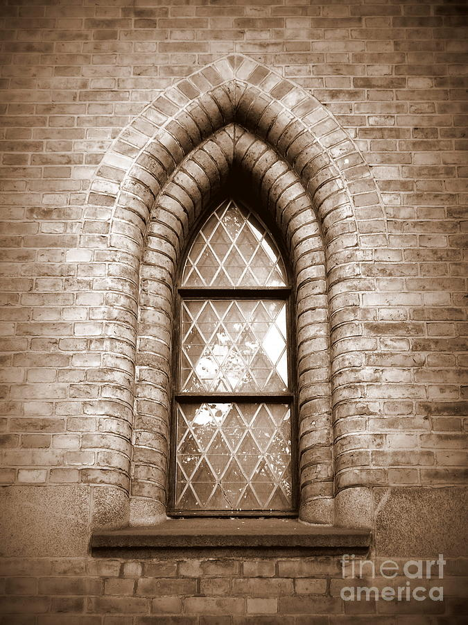 Gothic Window Photograph  - Gothic Window Fine Art Print