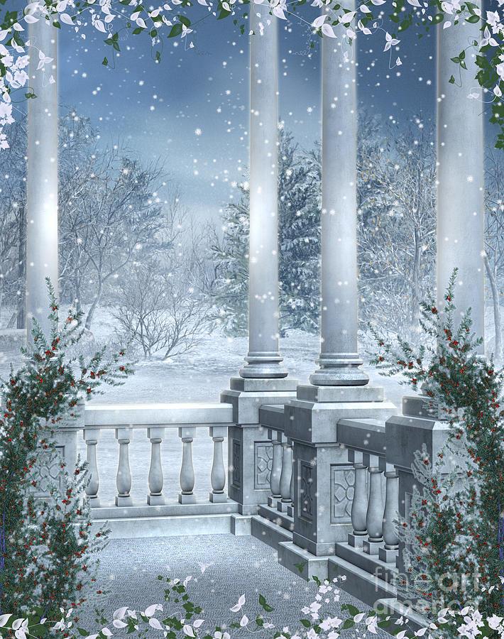 Gothic Winter Photograph