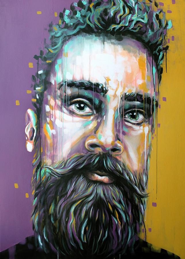 Painting Painting - Gotzman by Jeremy Scott