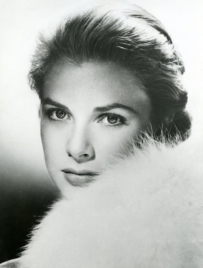 Grace Kelly Close Up Photograph