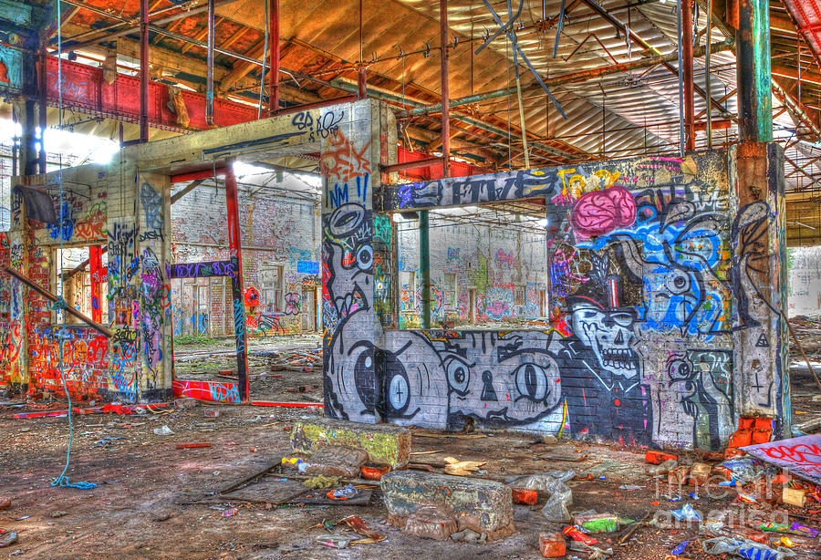 Graffiti Heaven Photograph  - Graffiti Heaven Fine Art Print