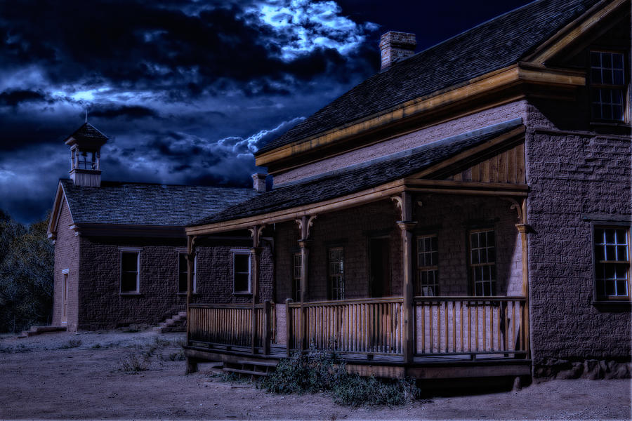 Grafton Ghost Town In Southern Utah Photograph