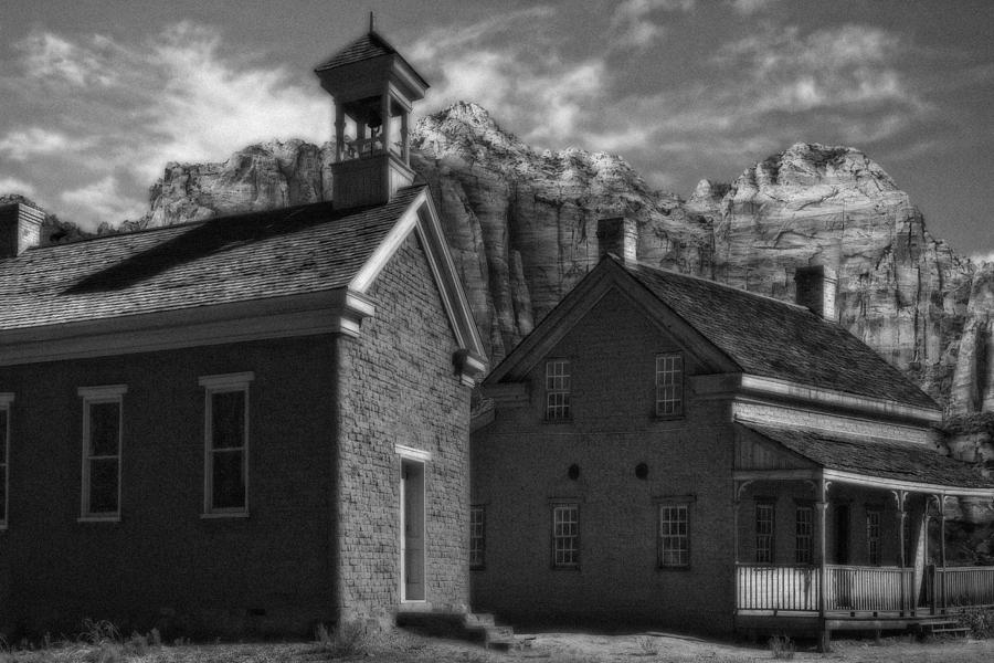 Grafton Ghost Town Utah Photograph