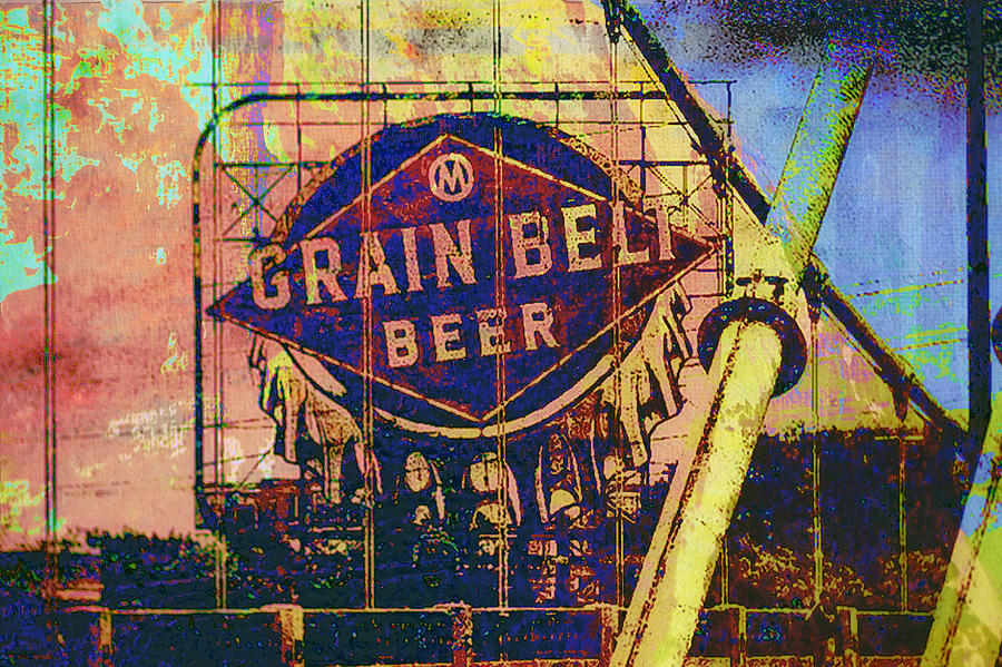 Grain Belt Beer Digital Art