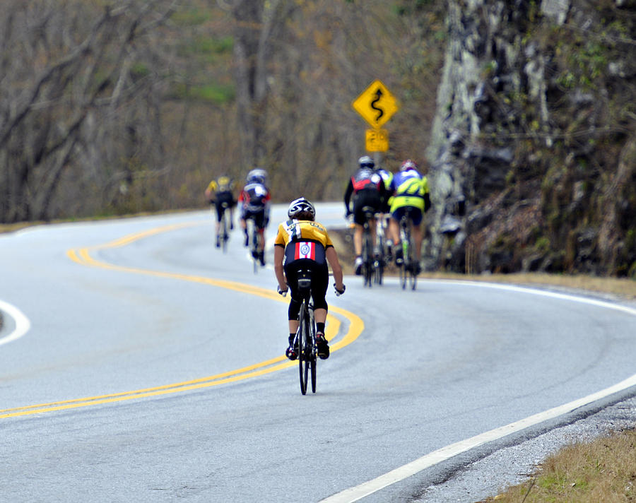 Gran Fondo Bike Ride Photograph