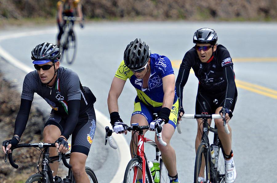 Sport Photograph - Gran Fondo by Susan Leggett