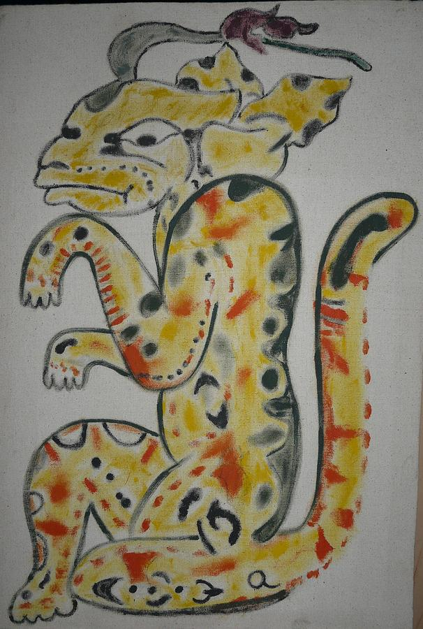 Gran Jaguar Painting