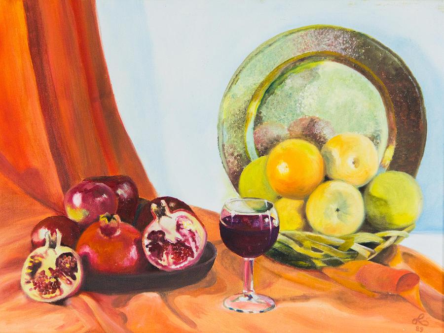 Granadas Painting