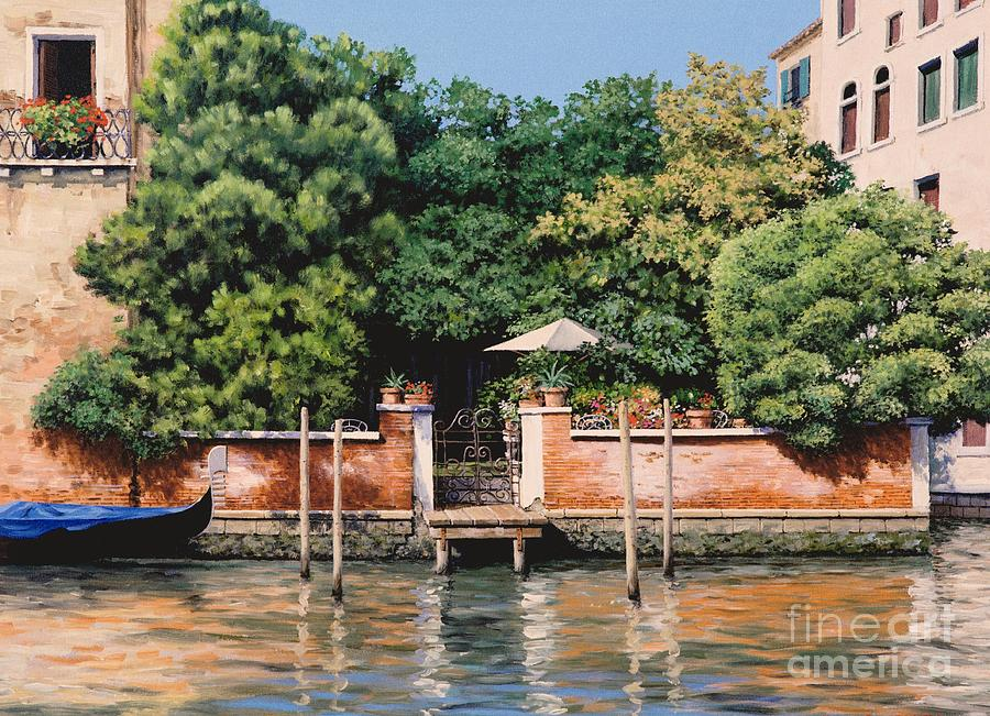 Grand Canal Oasis Painting