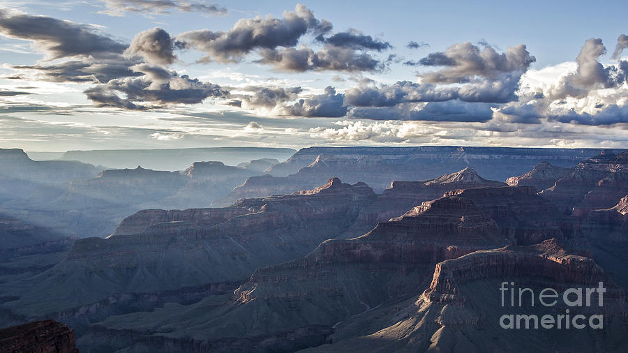 Grand Canyon At Sunset Photograph  - Grand Canyon At Sunset Fine Art Print