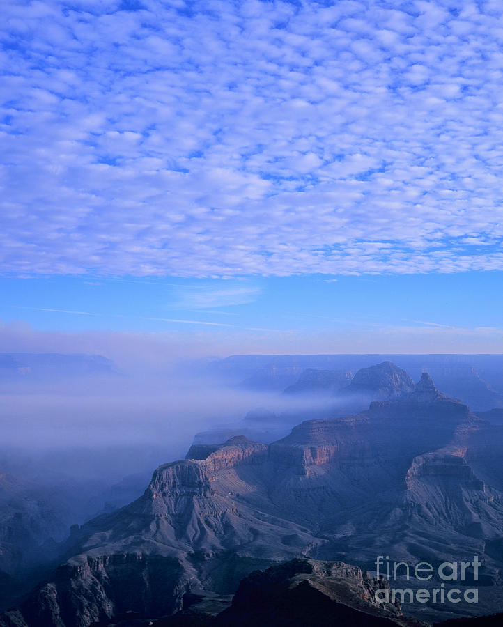 Grand Canyon Blues Photograph  - Grand Canyon Blues Fine Art Print