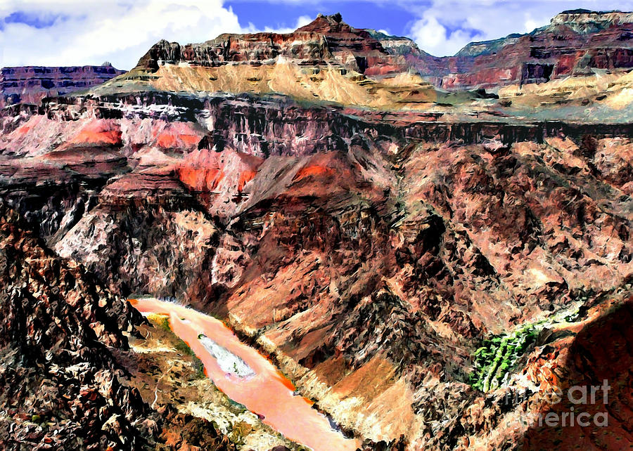 Grand Canyon Colorado River Painting
