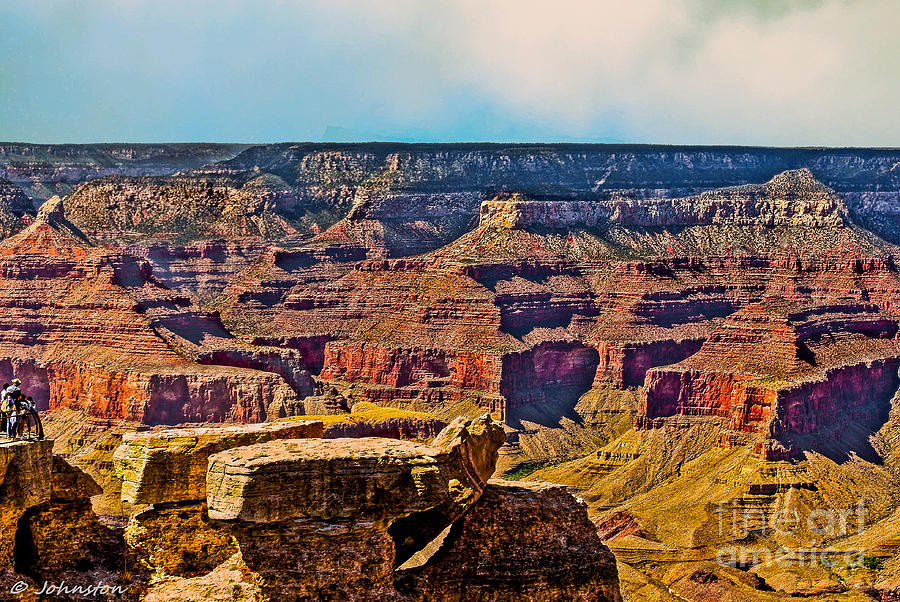 Grand Canyon Mather Viewpoint Photograph - Grand Canyon Mather Viewpoint by Bob and Nadine Johnston