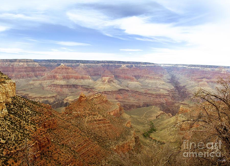 Matherspoint Photograph - Grand Canyon  by Scott Pellegrin