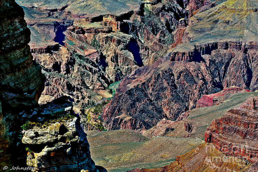Grand Canyon Yaki Viewpoint Photograph  - Grand Canyon Yaki Viewpoint Fine Art Print