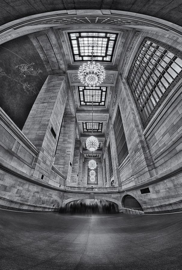 Grand Central Corridor Bw Photograph  - Grand Central Corridor Bw Fine Art Print
