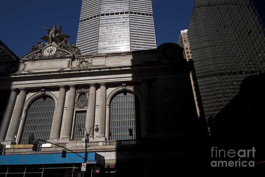 Grand Central In Evening Shadows Photograph  - Grand Central In Evening Shadows Fine Art Print