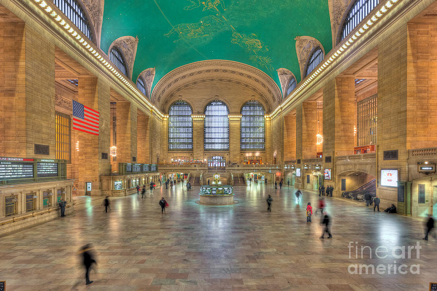 Clarence Holmes Photograph - Grand Central Terminal IIi by Clarence Holmes